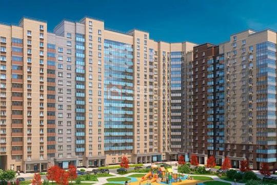 1-комн квартира, 39.45 м2, 16 этаж