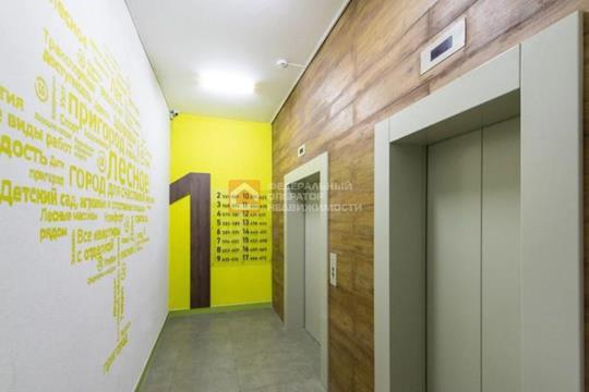 1-комн квартира, 38.09 м2, 13 этаж