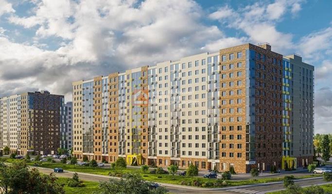 1-комн квартира, 28.68 м2, 6 этаж - фото 1