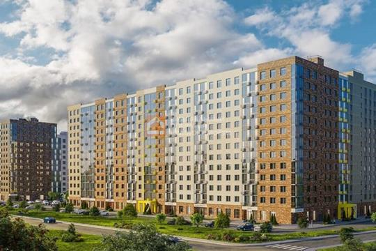2-комн квартира, 53.48 м2, 13 этаж