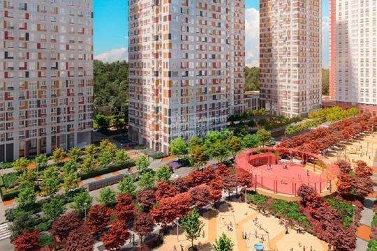 3-комн квартира, 75 м2, 28 этаж