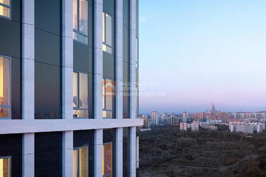 1-комн квартира, 49.58 м2, 24 этаж