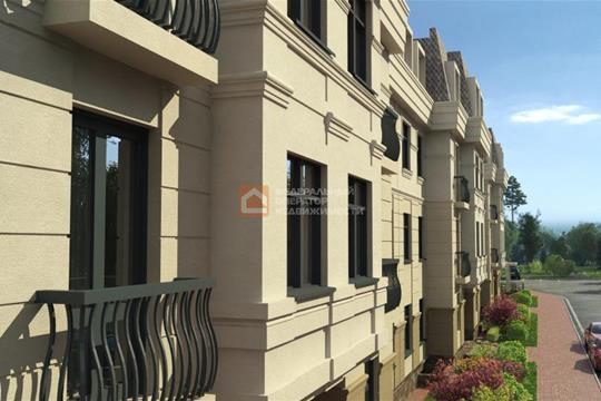 3-комн квартира, 105 м2, 2 этаж