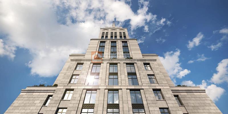 Многокомнатная квартира, 256 м2, 28 этаж - фото 1