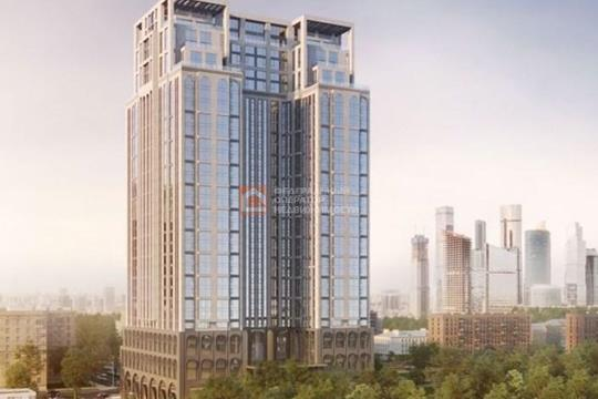 1-комн квартира, 51 м2, 18 этаж