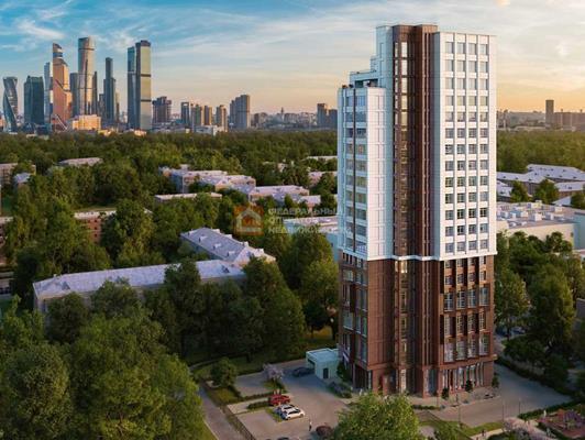 4-комн квартира, 113 м2, 14 этаж - фото 1