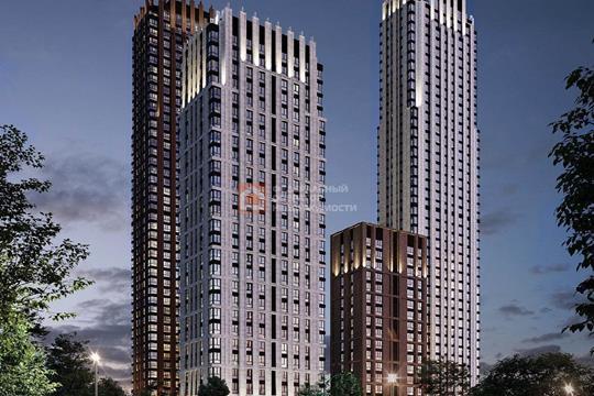 1-комн квартира, 45.8 м<sup>2</sup>, 14 этаж_1