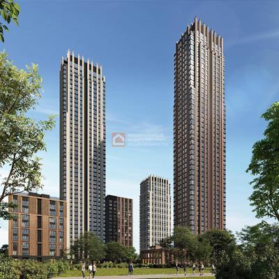 2-комн квартира, 59 м2, 10 этаж - фото 1