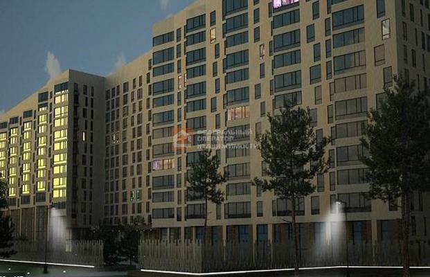 1-комн квартира, 51.63 м2, 9 этаж - фото 1