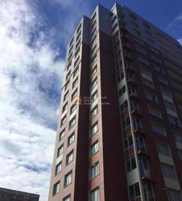 3-комн квартира, 73 м2, 17 этаж - фото 1
