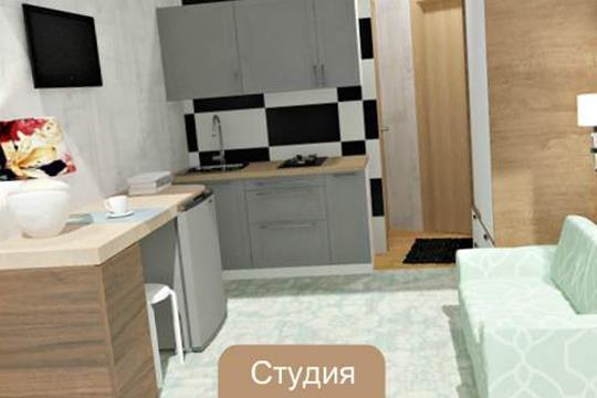 1-комн квартира, 10.8 м2, 2 этаж