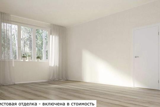 1-комн квартира, 27.06 м2, 6 этаж