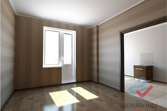 1-комн квартира, 33.9 м2, 1 этаж