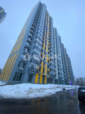2-комн квартира, 52 м2, 14 этаж - фото 1