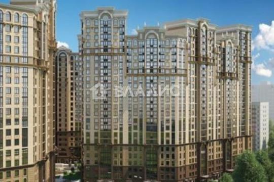 2-комн квартира, 71 м2, 17 этаж