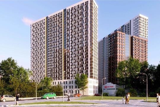 1-комн квартира, 32.5 м2, 8 этаж