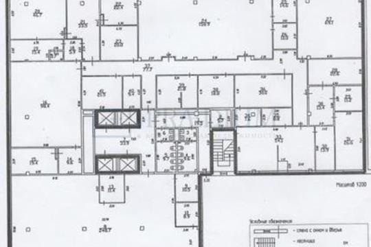 Офис, 1288 м2, класс A