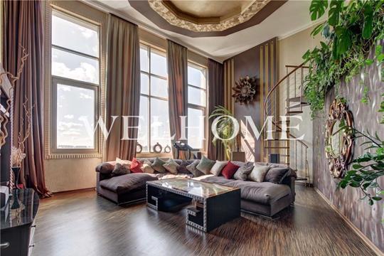 Многокомнатная квартира, 175 м2, 22 этаж