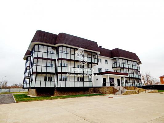 1-комн квартира, 57.5 м2, 2 этаж - фото 1