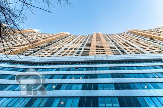 1-комн квартира, 58.3 м2, 23 этаж