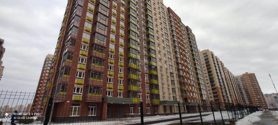 3-комн квартира, 74.6 м2, 6 этаж - фото 1