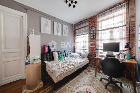 3-комн квартира, 43.5 м2, 4 этаж