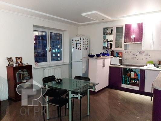 3-комн квартира, 98 м2, 12 этаж - фото 1