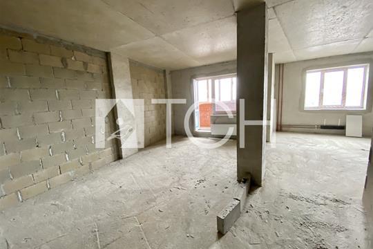 1-комн квартира, 42.6 м2, 1 этаж