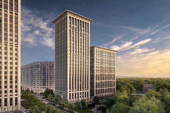 3-комн квартира, 127.5 м<sup>2</sup>, 17 этаж_1
