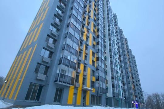 2-комн квартира, 51.6 м2, 14 этаж