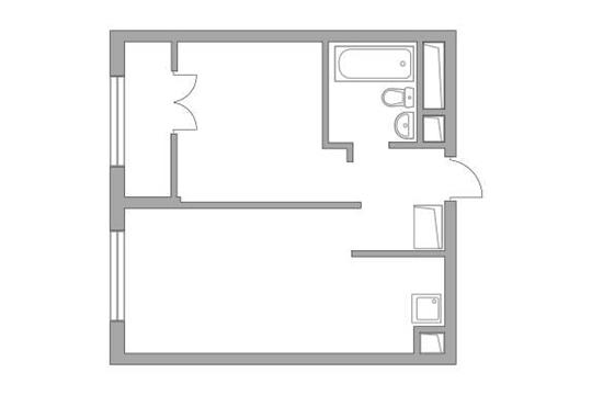 1-комн квартира, 35.48 м2, 9 этаж