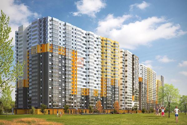 1-комн квартира, 23.4 м2, 6 этаж - фото 1