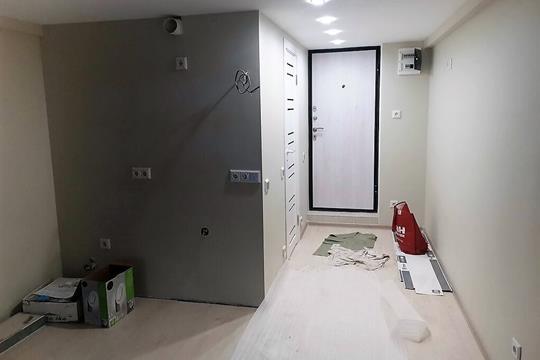 Студия, 31 м2, 1 этаж