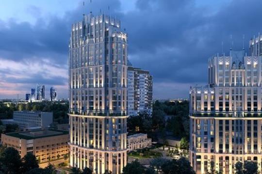 1-комн квартира, 43.5 м2, 20 этаж