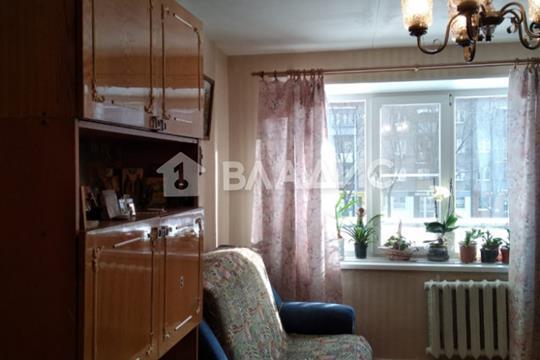3-комн квартира, 62.4 м2, 2 этаж