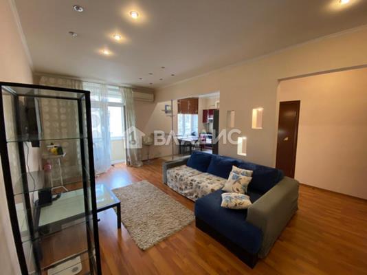 3-комн квартира, 85 м2, 4 этаж - фото 1