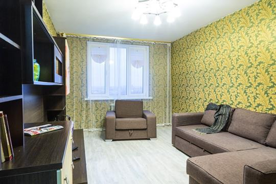 1-комн квартира, 42 м2, 9 этаж