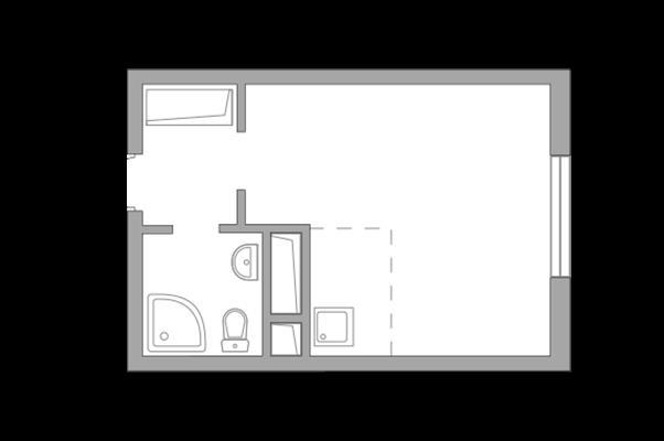 Студия, 22.25 м2, 11 этаж - фото 1