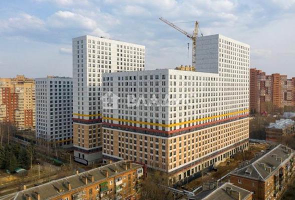 2-комн квартира, 35.7 м2, 18 этаж - фото 1