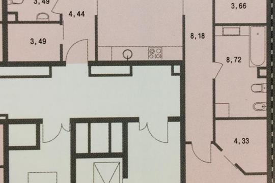 3-комн квартира, 106.8 м<sup>2</sup>, 2 этаж_1