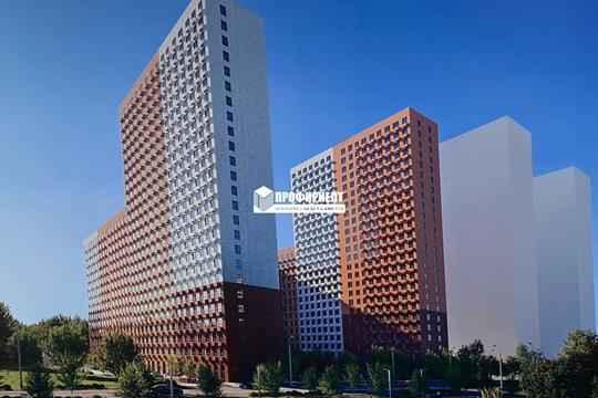 1-комн квартира, 32 м2, 18 этаж