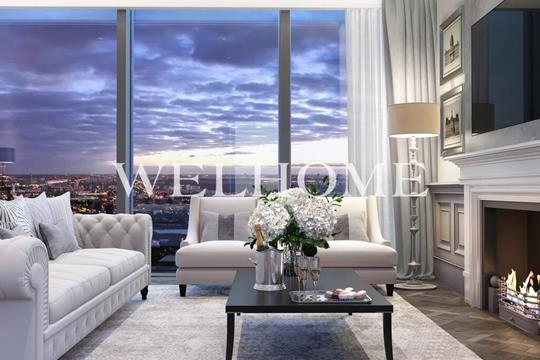 1-комн квартира, 40 м2, 28 этаж