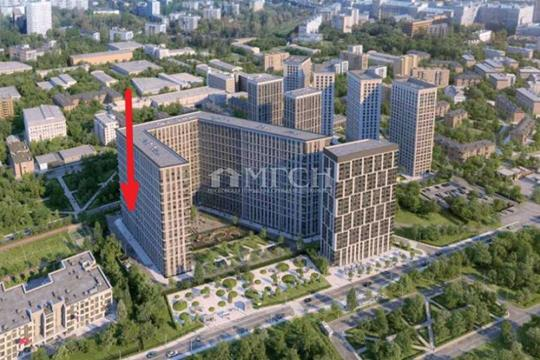 2-комн квартира, 60.9 м2, 4 этаж