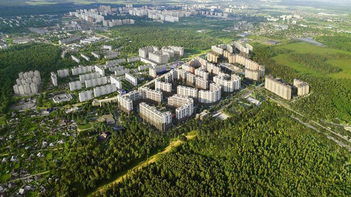 2-комн квартира, 36.5 м2, 21 этаж - фото 1