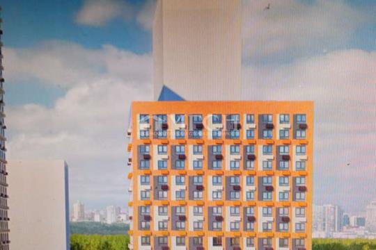 1-комн квартира, 27 м2, 14 этаж
