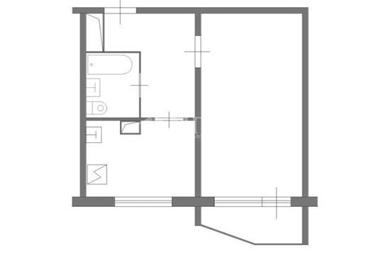 1-комн квартира, 37.8 м2, 12 этаж