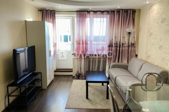 1-комн квартира, 35.8 м2, 17 этаж