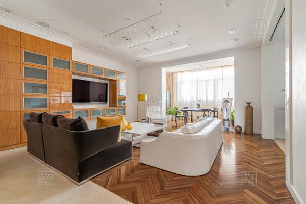 4-комн квартира, 191.4 м2, 7 этаж - фото 1