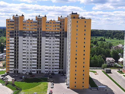 2-комн квартира, 55.7 м2, 1 этаж - фото 1
