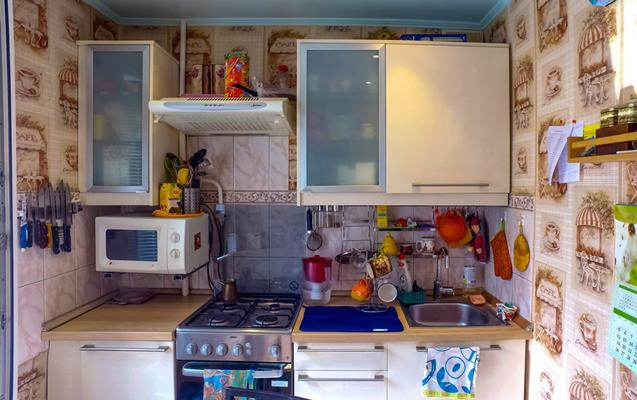 3-комн квартира, 51.3 м2, 3 этаж - фото 1